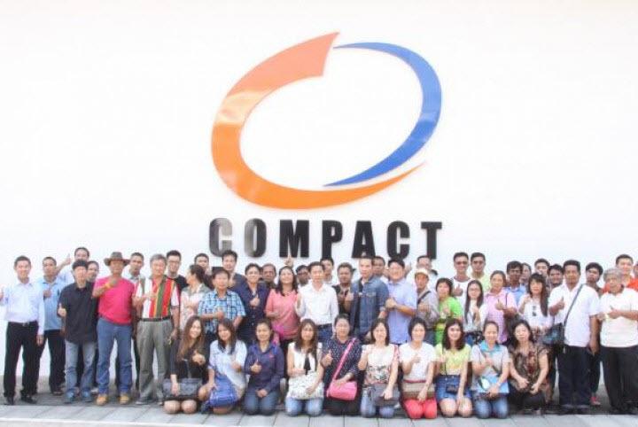 (NEWS) คอมแพ็คเบรกจัดประชุมประจำปีศูนย์บริการ Compact Premium Service Center
